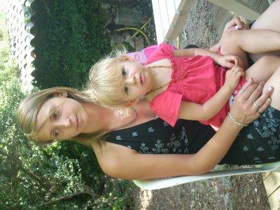 Moi et ma tite Chipie ;)