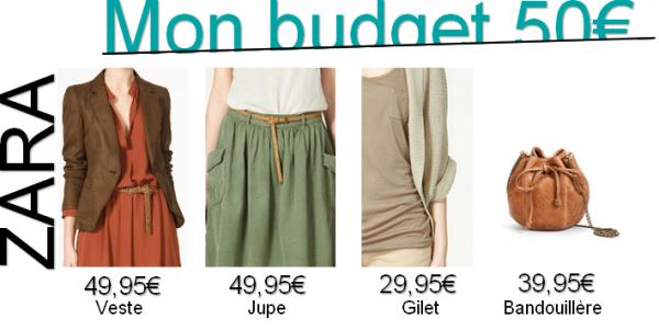 #9 Mon budget 50¤