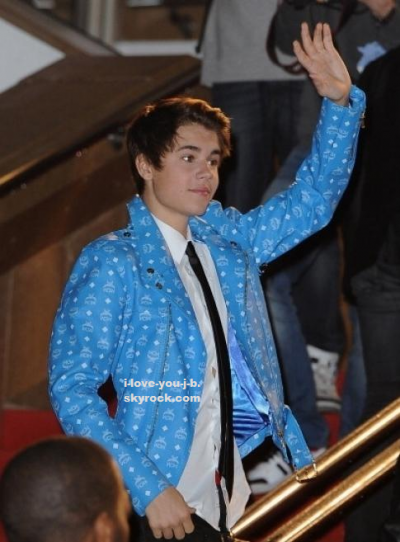 Justin Bieber au Nrj Music Awards 2012