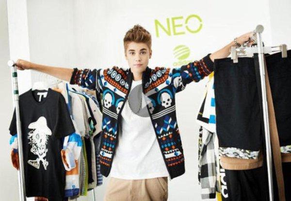 Justin Bieber, égérie de la marque Adidas?