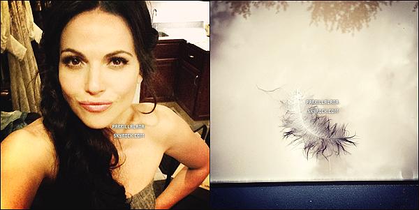 .Twitter●● Lana a posté quelques nouvelles photos (+) OUAT dans Tv Guide. .