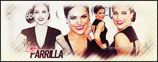. Bienvenue sur www.ParrillaLana.skyrock.com, ton blog source sur la belle Lana Parrilla-.