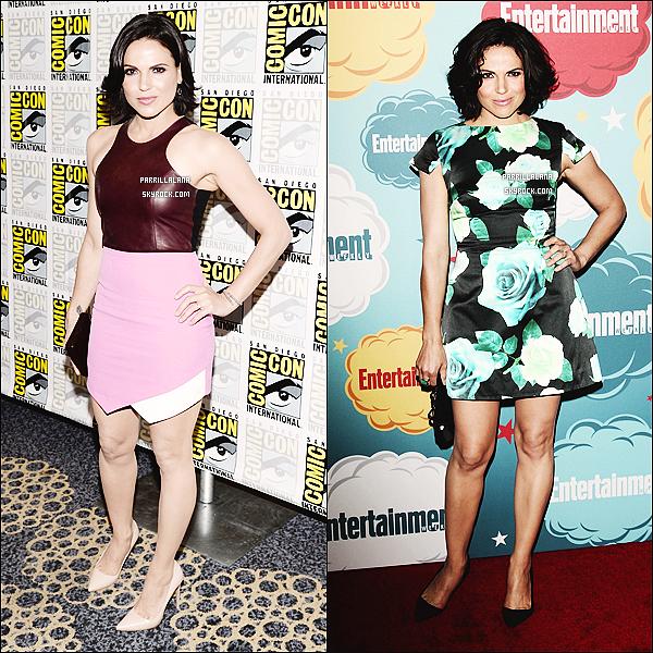 . Comic Con 2013●●Lana dans deux superbes robes, mais laquelle est ta préférée ? .