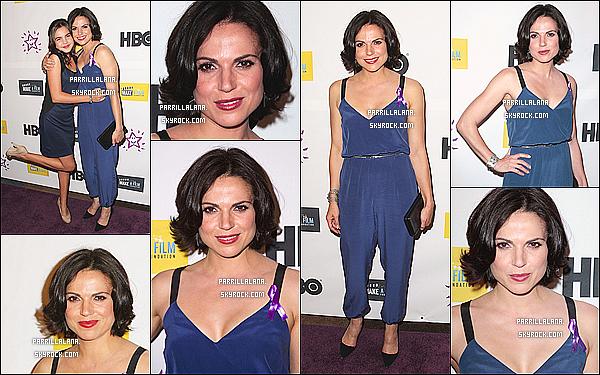""".18/05/13 - Lana s'est rendue à la première du film """"The Magic Bracelet"""" qui se déroulait à Los Angeles.  ."""