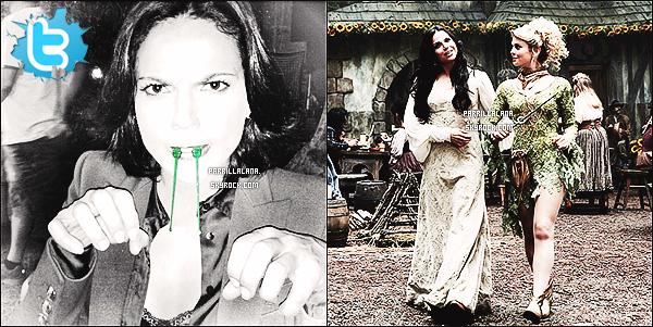 .Twitter●● Ginnifer G. a posté une nouvelle photo de Lana (+) Premier still de la saison 3 de OUAT .