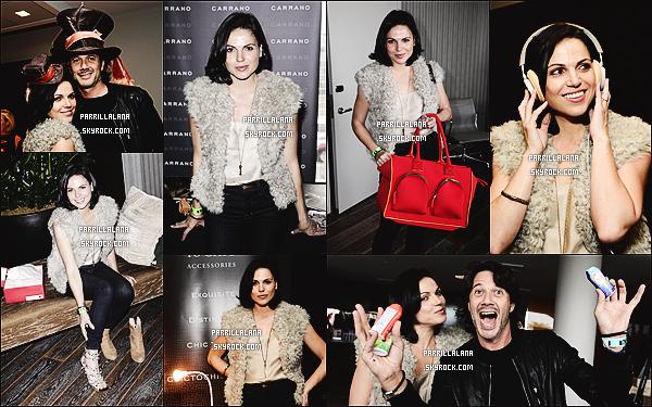 """.20/09/13 - Notre Lana était présente au """"Style Lounge Pre-Emmy"""" de Kari Feinstein à l'Hôtel Andaz, à LA.  ."""