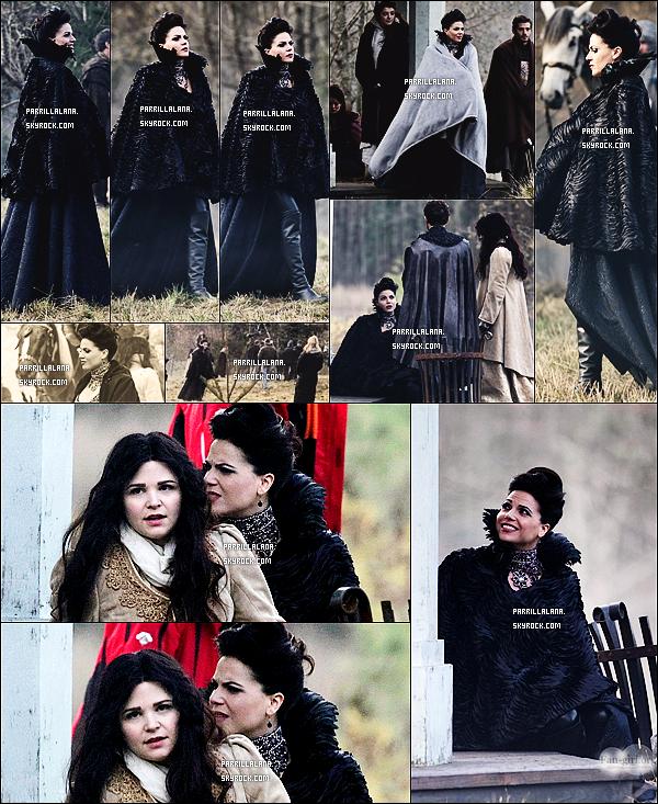 .27/11/13  -  Lana Parrilla aperçue sur le set de la deuxième partie de la saison de Once Upon a Time.  .