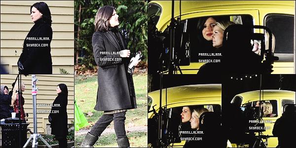 .05/12/13  -  Lana Parrilla une nouvelle fois sur le set de troisième saison de Once Upon a Time.  .