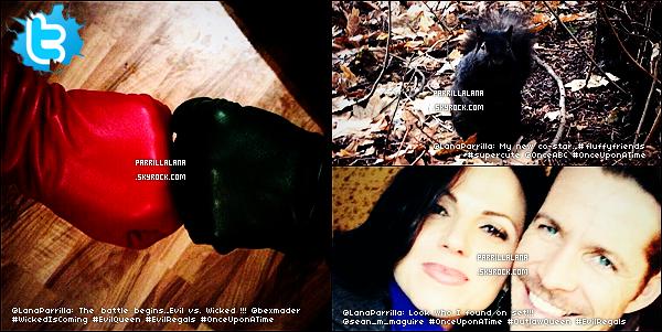 .24/01/14 - Lana sur le set de Once Upon a Time à Vancouver pour la deuxième moitié de la saison 3 ! .