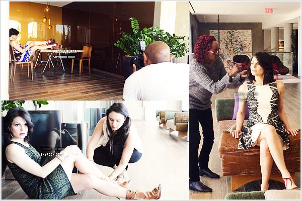 Découvrez les photos et la vidéo behind the scenes pour le magazine Regard