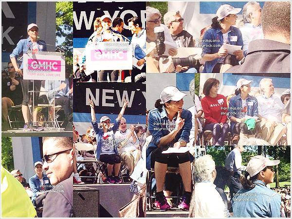 18/05/14 : Notre très généreuse Lanaa participé à unemarchecontre le SIDA à New York.