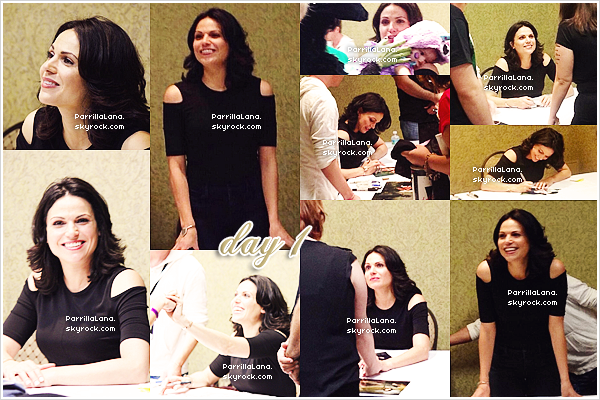 """31/05/14: Queen Lana était présente durant deux jours à la convention""""Spooky Empire"""", en Floride."""