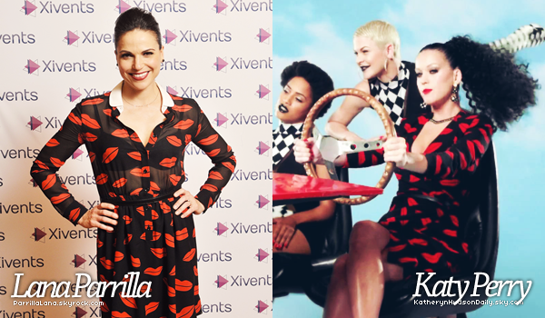 --Divers l  Sondage:Qui de Katy ou Lana porte le mieux cette robe ?(collaboration avec KHD)