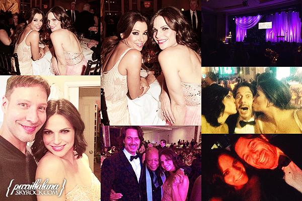 --Public Appearance:  2014 Princess Grace Awards Gala