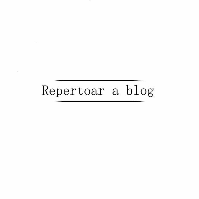 Blog repertoire.