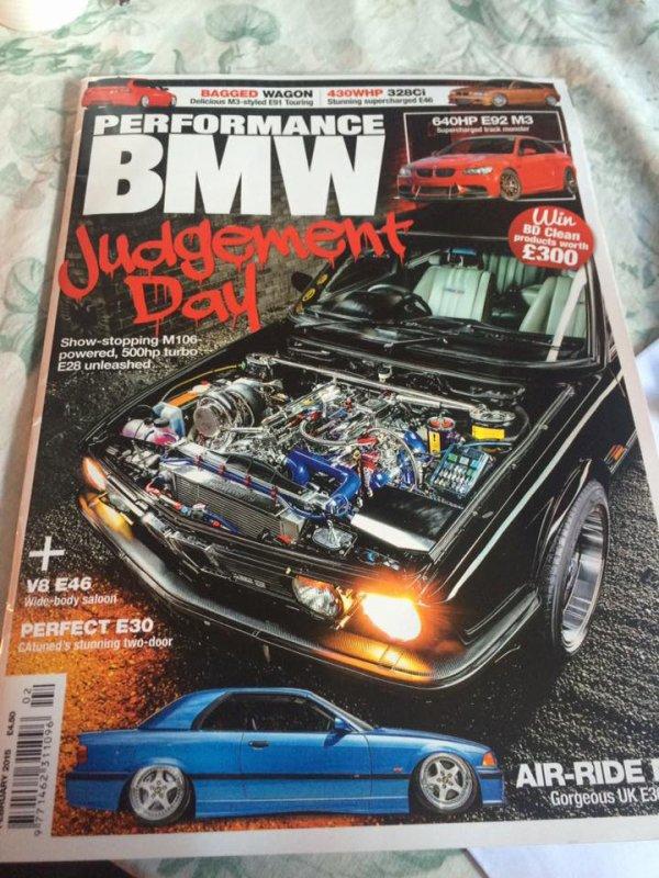 perfomances BMW