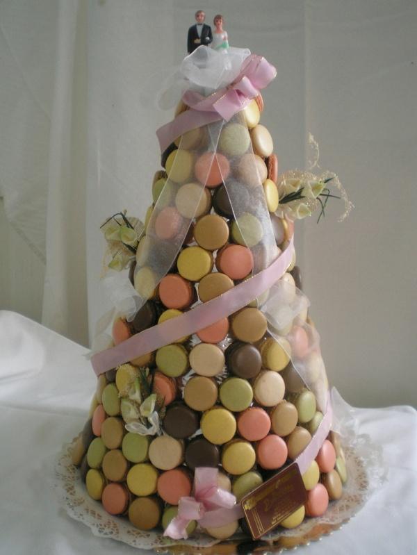 Gateaux De Mariage Tout En Macarons Blog De