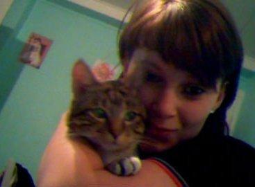 moi et ladorable chat