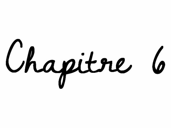 Chapitre 6 in love