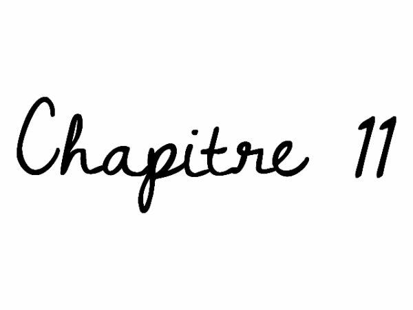 Chapitre 11 marriage