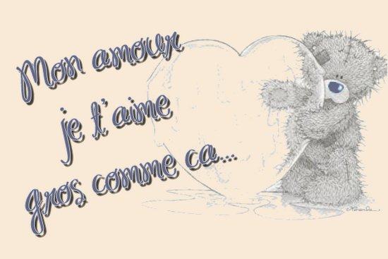 Mon amour je t'aime gros comme ça - Blog de misspuchy-vinchou