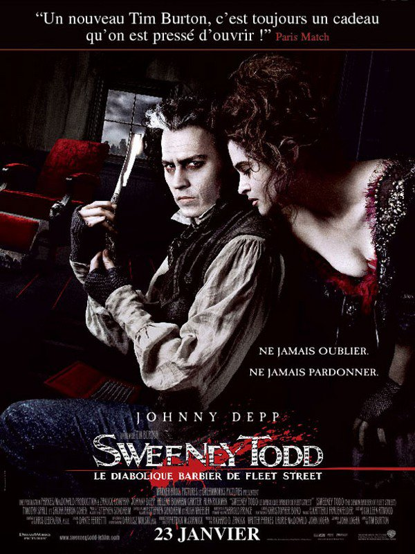 Sweeney Todd : Le Diabolique Barbier de Fleet Street (2007)
