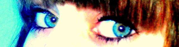 ` Mes yeux sont à toi mon ange ..<3