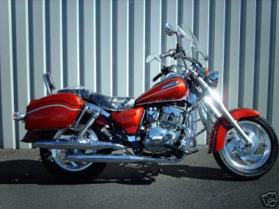 a vendre 125cc moto chopper neuf bicylindre prix exeptionnel mon flow arrive en b cane. Black Bedroom Furniture Sets. Home Design Ideas
