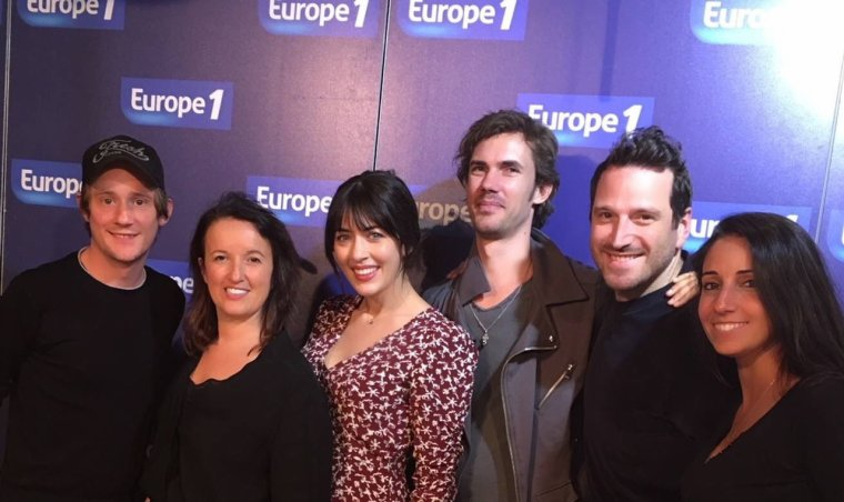 Nolwenn leroy - Europe1 la bande de Samedi Roumanoff 14/10/2017