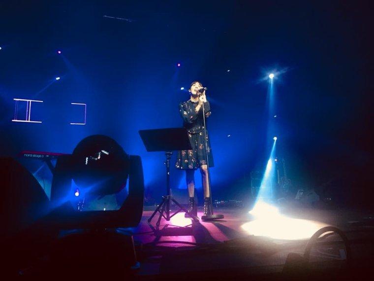 Nolwenn Leroy - Concert Le Bel RTL live - La Louvière (Belgique) - 26/11/2017