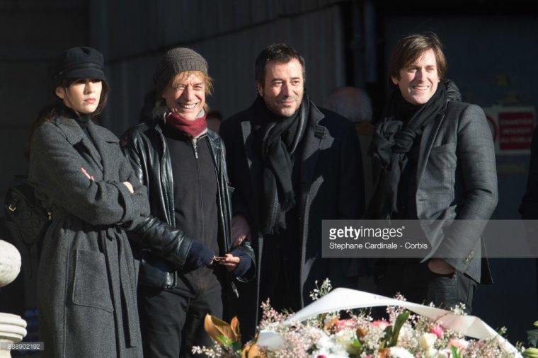 Nolwenn Leroy - Cérémonie d'hommage à Johnny Hallyday Paris les Champs Élysées 09/12/2017