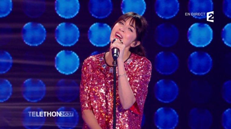 Nolwenn Leroy - France 2 – Téléthon 09/12/2017