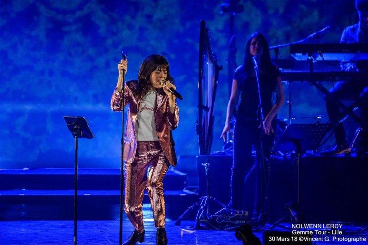 Nolwenn Leroy - Concert Gemme - Le Théâtre Sébastopol à Lille - 30/03/2018