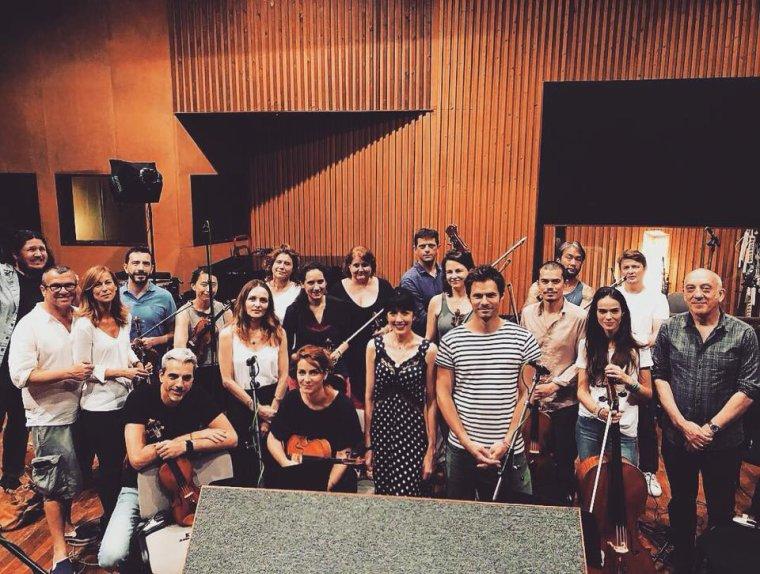 Nolwenn Leroy - Studio time à Paris 03/07/2018