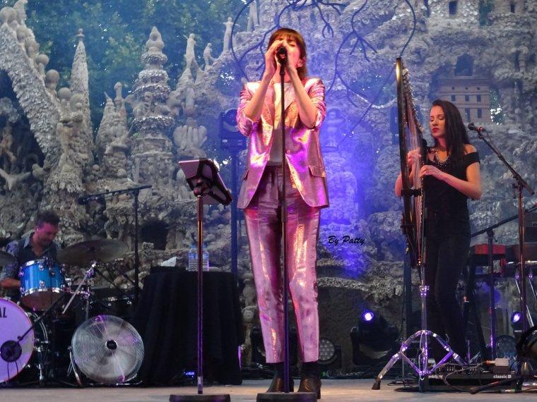 Nolwenn Leroy - Concert Gemme Tour - Palais Idéal du Facteur Cheval à Hauterives 09/07/2018