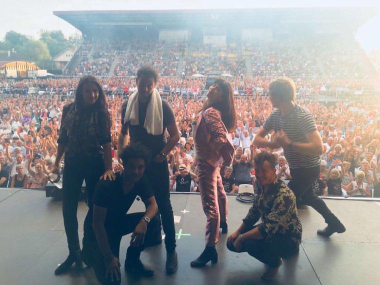 Nolwenn Leroy - Concert Gemme Tour - Les Nuits Bressanes à Louhans 14/07/2018