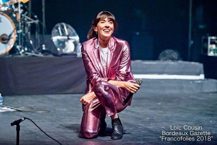 Nolwenn Leroy - Concert Gemme Tour - Les Francofolies à La Rochelle 15/07/2018