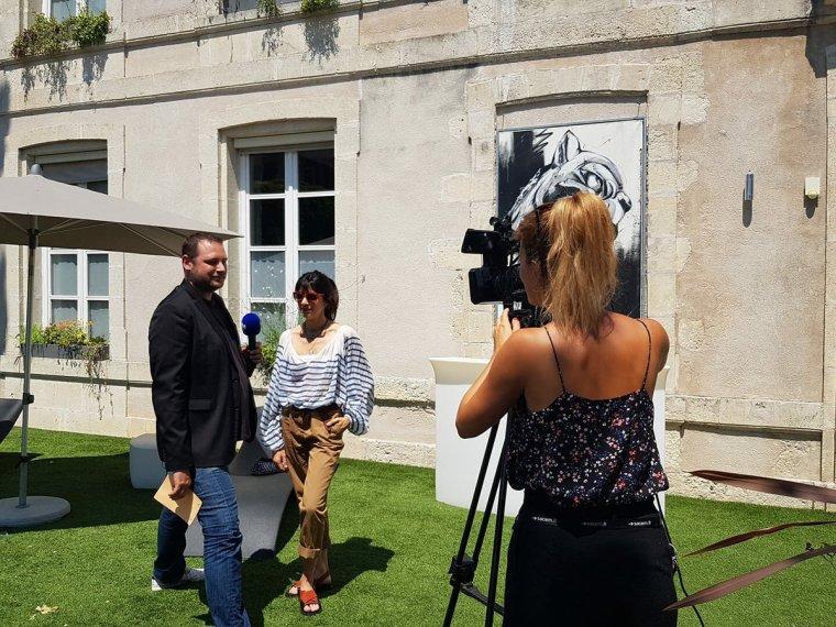 Nolwenn Leroy - Radio - TV5 Monde aux Francofolies à la Rochelle 15/07/2018