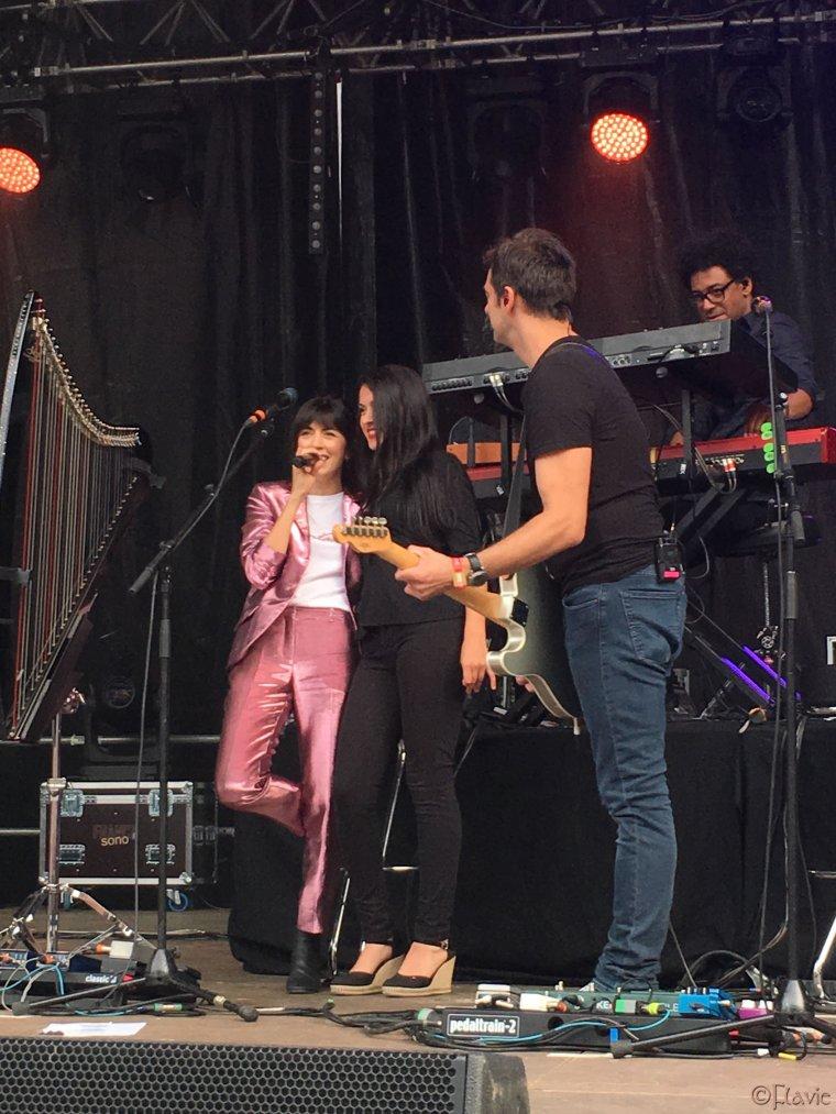 Nolwenn Leroy - Concert Gemme Tour - Le Passage Music Festival à Le Passage - 21/07/2018