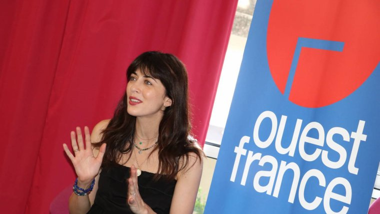 Nolwenn Leroy - Interview à la rédaction de « Ouest-France » à Quimper 26/07/2018