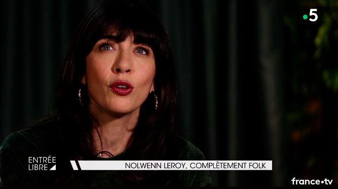 Nolwenn Leroy - Promo TV | Entrée libre sur France 5 - 15/11/2018