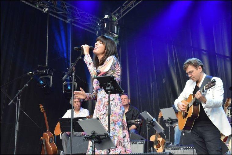 Nolwenn Leroy - Concert Folk Tour - Festival autour de la guitare à Clichy la garenne 23/06/2019