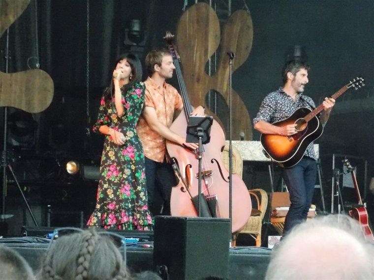 Nolwenn Leroy - Concert Folk Tour - Festival Estival à Trélazé 02/07/2019