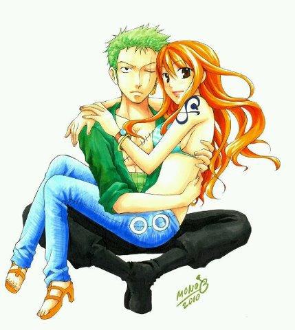 Le couple ZoroxNami
