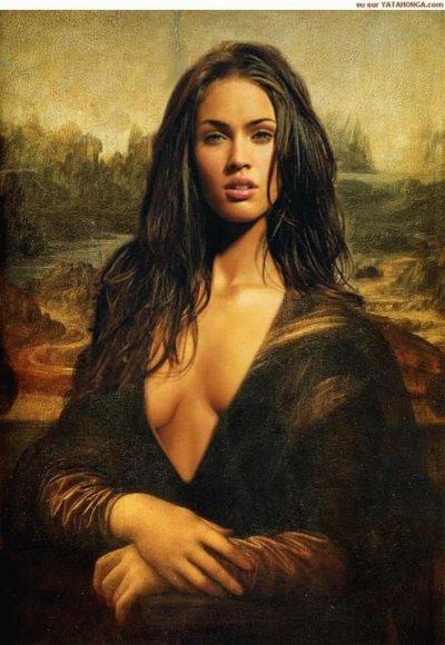 Megan Fox La Belle Jocoonde MonaLisa