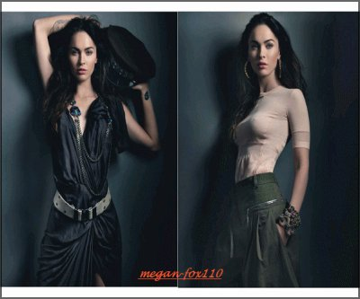 La Belle Actrice Model Fashion, Megan Fox