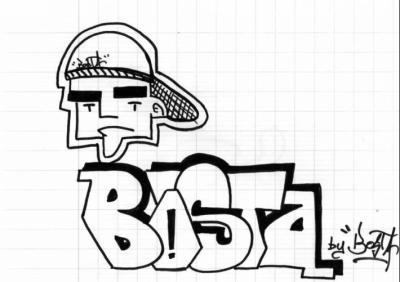 bosta un perso - Dessin Graffiti