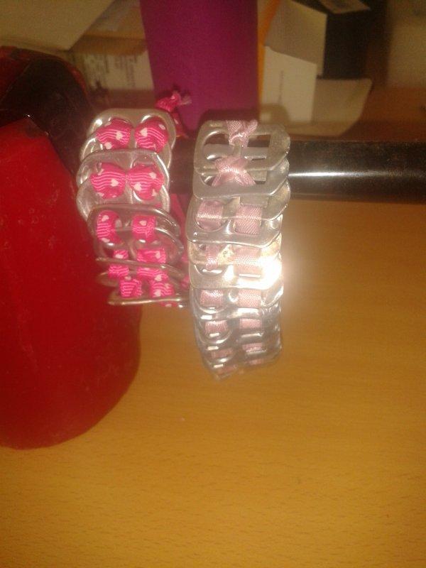 vent bracelet en capsules de soda .prix :5¤ frais de port compris