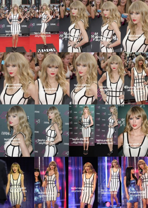 le 16 juin 2013 - Tay était présente et souriante aux « MuchMusic Video Award » - à Toronto Canada