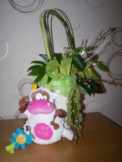 Enfin de retour trés belle matinée d'art floral !!
